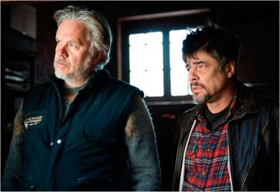 tim robbins e benicio del toro in perfect day