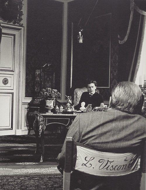 Sul set di Ludwig (1972)