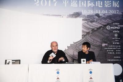 PYIFF-Jia Zhangke and Marco Muller