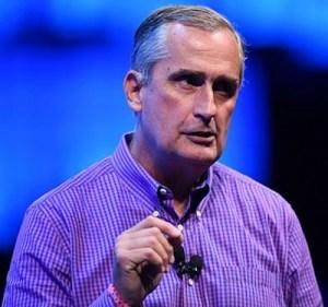 Brian Krzanich, il CEO di Intel; quando ha capito che stavano per soffiare venti di tempesta ha preferito riempirsi le tasche (ventiquattro milioni di dollari) senza cercare di risolvere il problema...