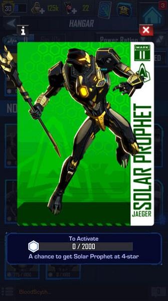 Solar Prophet è uno Jaeger originale, che non c'era nei film di Pacific Rim; è stato sviluppato apposta per il gioco. C'è da chiedersi con quale fantasia gli autori lo abbiano immaginato...