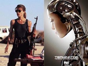 Sarah Connor ieri e oggi