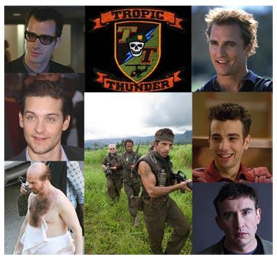 Tropic Thunder - il cast