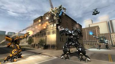 transformers revenge of the fallen videogame ps3 multiplayer