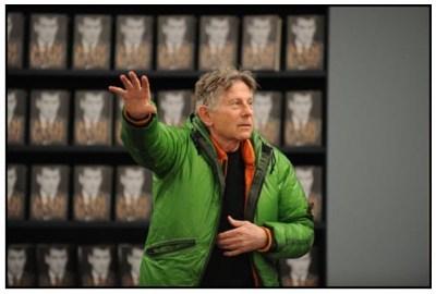 Roman Polanski sul set diThe Ghost Writer