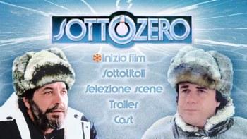 il menu del dvd di sottozero