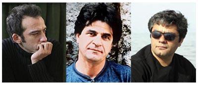 I registi iraniani Rafi Pitts, Jafar anahi e Mohammad Rasoulof