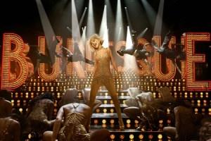 Christina Aguilera in una scena di