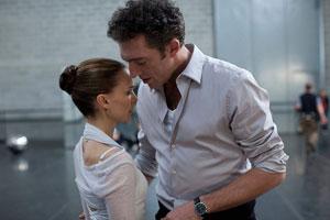 Natalie Portman e Vincent Cassel in Il cigno nero