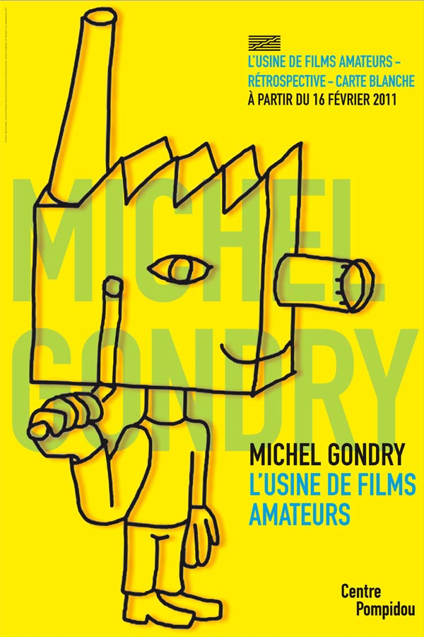 Michel Gondry, mostra/workshop al Centre Pompidou