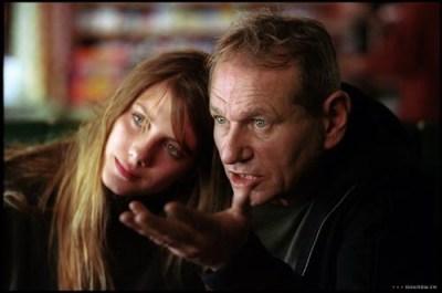 Mélanie Laurent e il regista Philippe Lioret sul set - Je vais bien, ne t'en fais pas