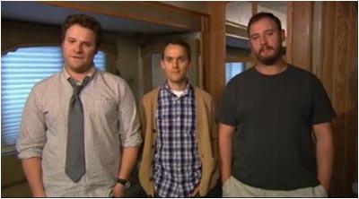 Seth Rogen, Will Reiser e Evan Goldberg presentano il trailer di 50/50