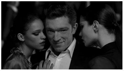 Vincent Cassel nello spot per Yves Saint Laurent, diretto da Darren Aronofsky