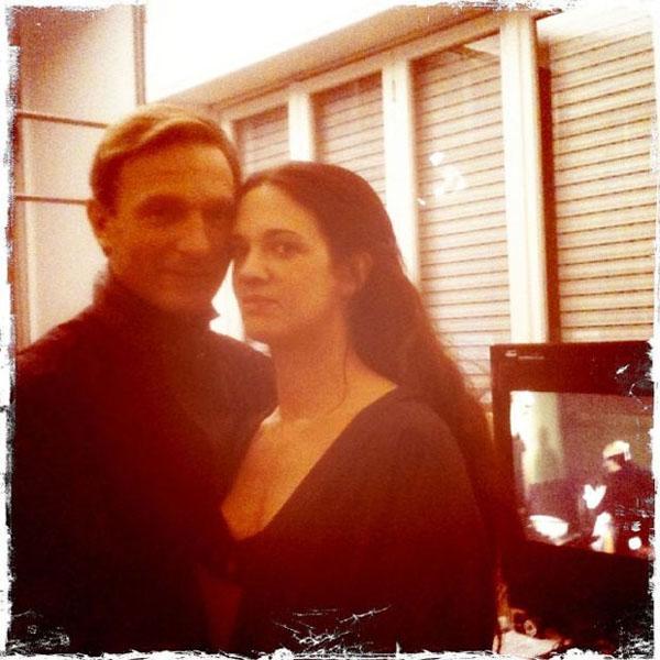 Dracula e Lucy: Asia Argento e Thomas Kretschmann in DRACULA 3D, via twitter