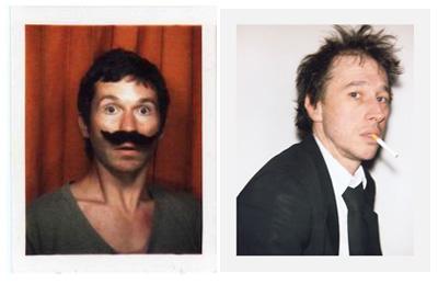 A sinistra: Antoine Barraud. A destra: Bertrand Bonello