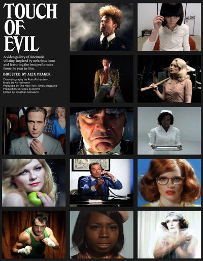 Touch of Evil: 13 attori interpretano le icone del male per il NY Times