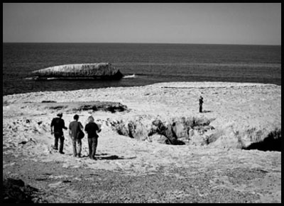 Il set di THE LEGEND OF KASPAR HAUSER [Davide Manuli 2011]