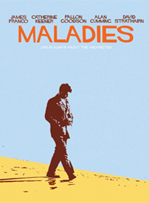 MALADIES [2011] Carter dirige James Franco e Catherine Keener - il poster