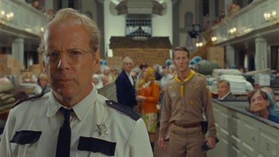 Bruce Willis e Edward Norton nel trailer di MOONRISE KINGDOM di Wes Anderson