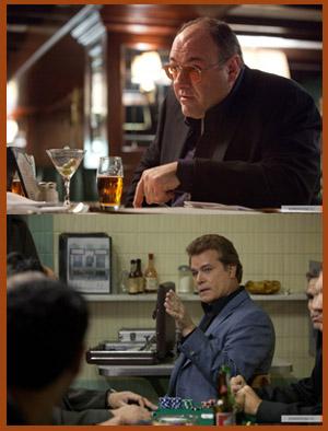 James Gandolfini e Ray Liotta in COGAN'S TRADE di Andrew Dominik