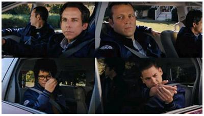 Ben Stiller, Vince Vaughn, Richard Aoyade e Jonah Hill nel trailer di Neighborhood Watch