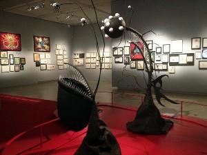 Tim Burton in mostra