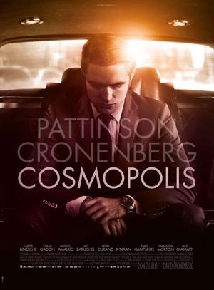 Cosmopolis di David Cronenberg - poster ufficiale e primo teaser trailer