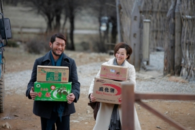Louis Koo and Sammi Cheng in Romancing in Thin Air
