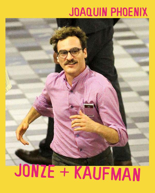 Joaquin Phoenix sul set di Spike Jonze e Charlie Kaufman