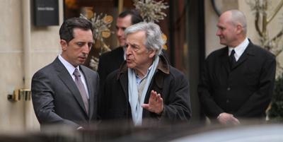 Gad Elmaleh e Constantin Costa-Gavras, LE CAPITAL - TIFF 2012