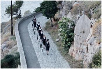 Una scena da The Capsule, mediometraggio di Athina Rachel Tsangari
