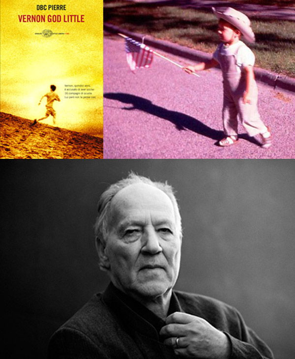 Werner Herzog, un film dal romanzo Vernon God Little