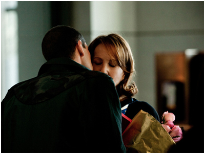 Nathalie Baye e Melvil Poupaud in Laurence Anyways, di Xavier Dolan