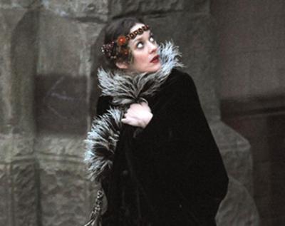 Marion Cotillard sul set di Nightingale (Low Life)