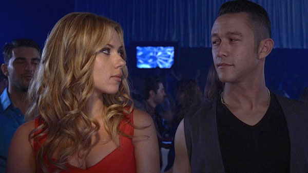 Joseph Gordon-Levitt con Scarlett Johansson in Don Jon's Addiction