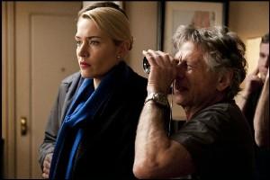 Polanski con Kate Winslet sul set di Carnage