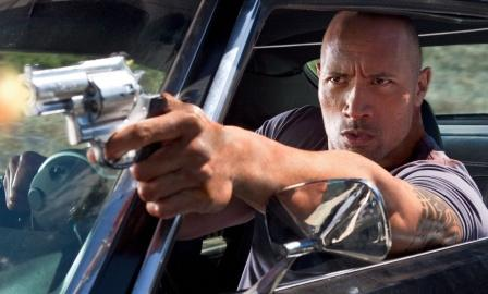 The Rock in Fast and Furious 6