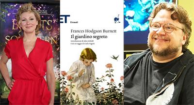 Lucy Alibar e Guillermo del Toro per Il giardino segreto
