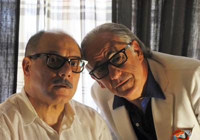 Carlo Verdone e Toni Servillo in La grande bellezza, di Paolo Sorrentino