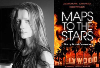 Mia Wasikowska in Maps to the Stars di David Cronenberg
