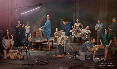 Nymphomaniac di Lars Von Trier, uscita a dicembre. Il cast al completo