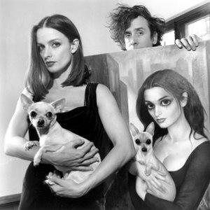 Tim Burton, Lisa Marie e il ritratto realizzato da Margaret Keane