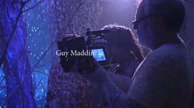 Guy Maddin sul set di SEANCES