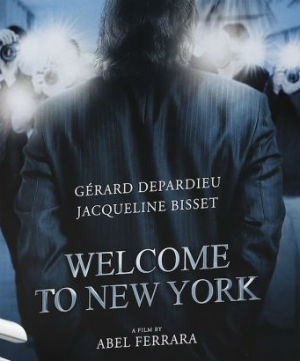 Welcome to New York di Abel Ferrara, il teaser poster di Cannes