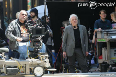 Welcome to New York, Abel Ferrara sul set