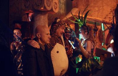 Christoph Waltz e David Thewlis in THE ZERO THEOREM di Terry Gilliam, nuove foto