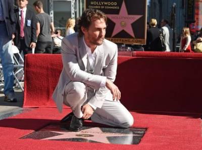 Matthew McConaughey_Walk of Fame