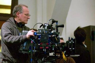 Michael Mann sul set