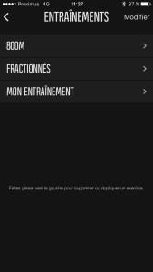 Programmer des fractionnés