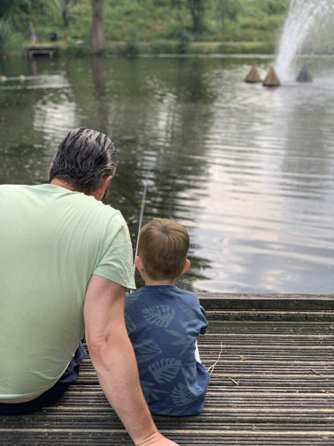 Mijn leven in foto's #128 - Vissen met papa